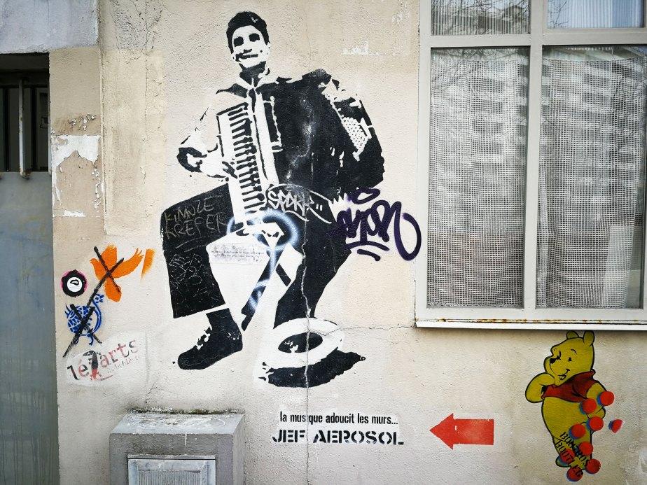 Jef Aerosol - Le musique adoucit les murs