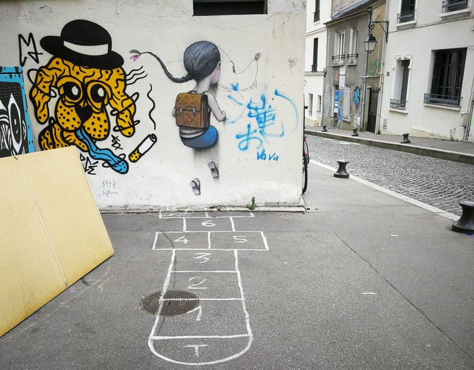 Paris Street Art - Seth